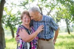 Foto altes Ehepaar