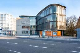 Foto Verwaltungsgebäude Stadtbau Pforzheim