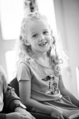 Foto Mädchen im Kindergarten