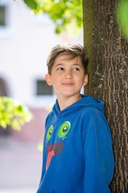 Foto Schulfoto Viertklässler Junge