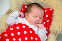 Foto neugeborenes Baby schläft