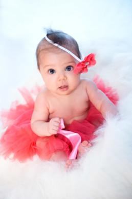Foto Baby mit rosa TuTu