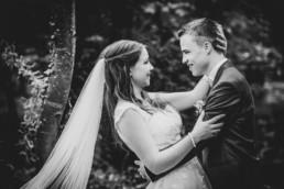 romantisches Foto Brautpaar