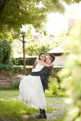 Romantisches Foto Hochzeitspaar in Durlach