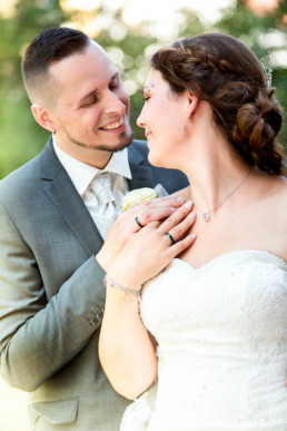 Foto Hochzeitspaar, frisch verheiratet, Eheringe