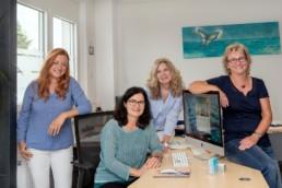 Teamfoto Büro Team Evimedia von Stefanie Morlok Pforzheim Birkenfeld
