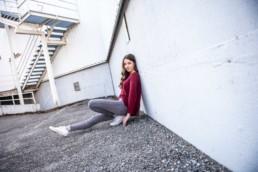 Fotograf Portrait Mädchen mit langen Haaren in Pforzheim